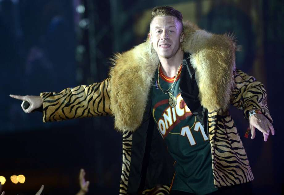 Ben Haggerty aka Macklemore in 2013. Photo: Tim Mosenfelder, Getty Images