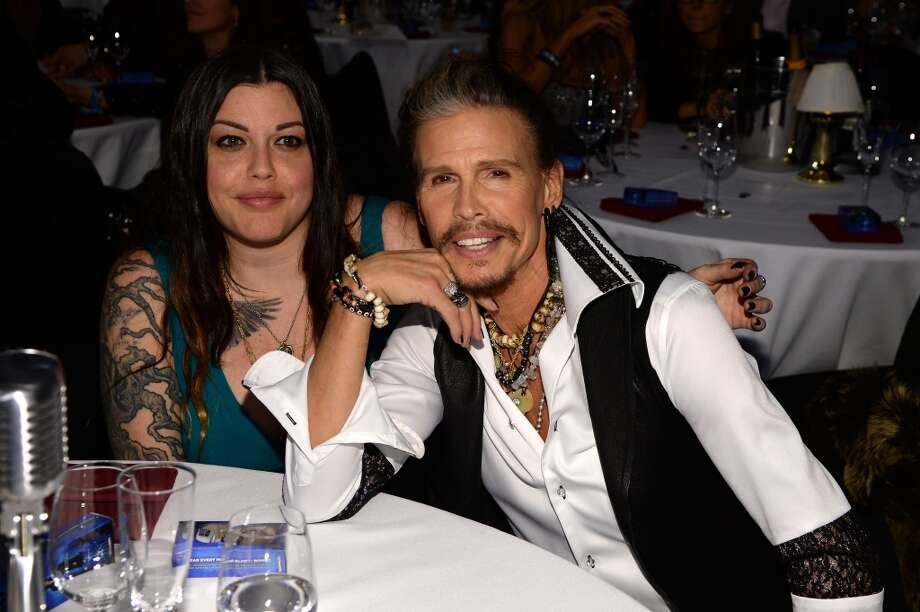 "Mia Tyler and Steven Tyler attend ""Howard Stern's Birthday Bash"" presented by SiriusXM, produced by Howard Stern Productions at Hammerstein Ballroom on January 31, 2014 in New York City. Photo: Larry Busacca, Getty Images For SiriusXM"