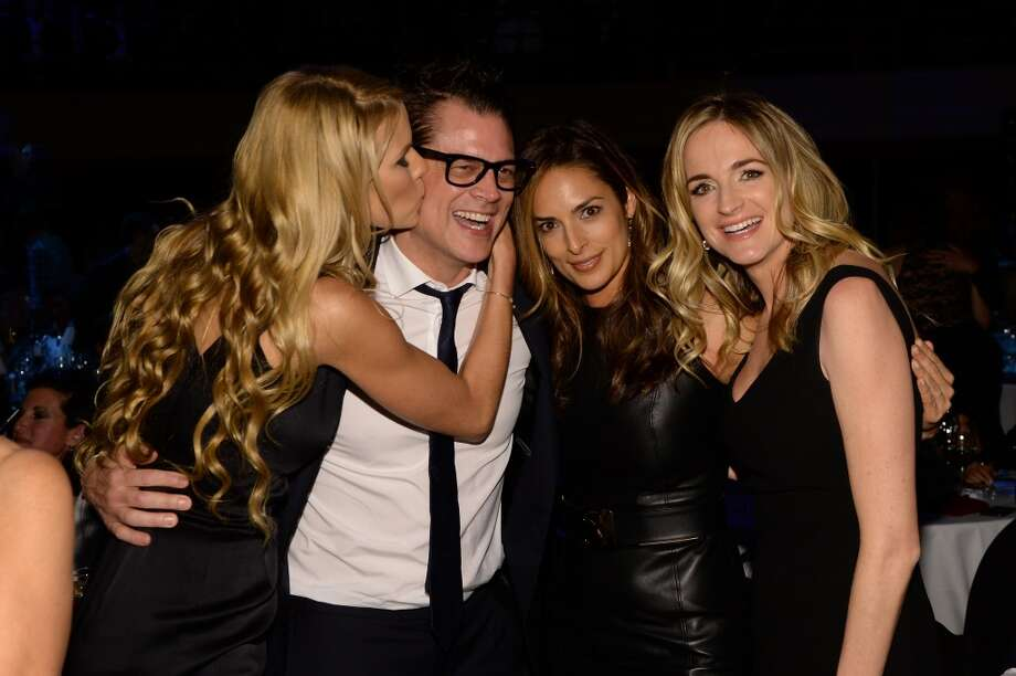 "Beth Ostrosky Stern, Johnny Knoxville, Lisa Ann Russell and Molly McNearney attend ""Howard Stern's Birthday Bash"" presented by SiriusXM, produced by Howard Stern Productions at Hammerstein Ballroom on January 31, 2014 in New York City. Photo: Larry Busacca, Getty Images For SiriusXM"