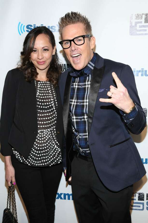 "Mark McGrath and Carin Kingsland attend SiriusXM's ""Howard Stern Birthday Bash"" at Hammerstein Ballroom on January 31, 2014 in New York City. Photo: Rob Kim, Getty Images"