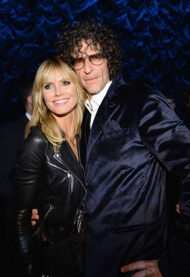 "Heidi Klum and Howard Stern attend ""Howard Stern's Birthday Bash"" presented by SiriusXM, produced by Howard Stern Productions at Hammerstein Ballroom on January 31, 2014 in New York City. Photo: Larry Busacca, Getty Images For SiriusXM"
