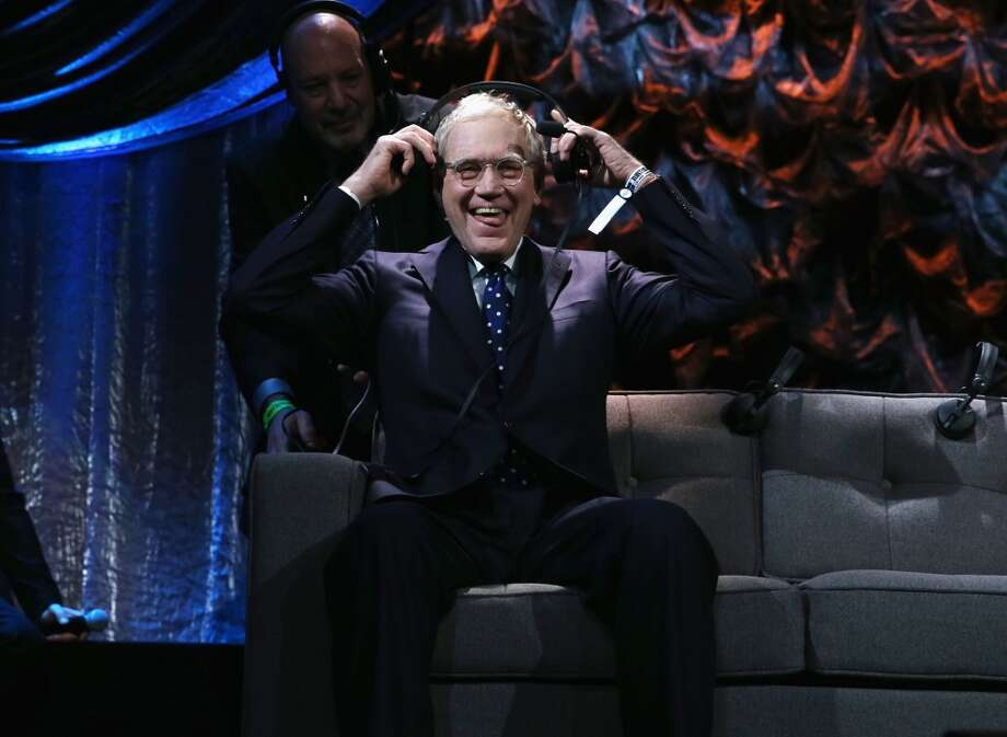 "David Letterman attends ""Howard Stern's Birthday Bash"" presented by SiriusXM, produced by Howard Stern Productions at Hammerstein Ballroom on January 31, 2014 in New York City. Photo: Larry Busacca, Getty Images For SiriusXM"
