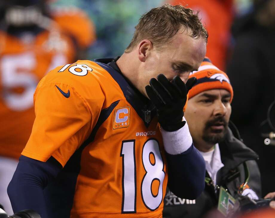 Year of the Horse? Not for Denver: After having arguably the greatest passing season ever, Peyton Manning has one 