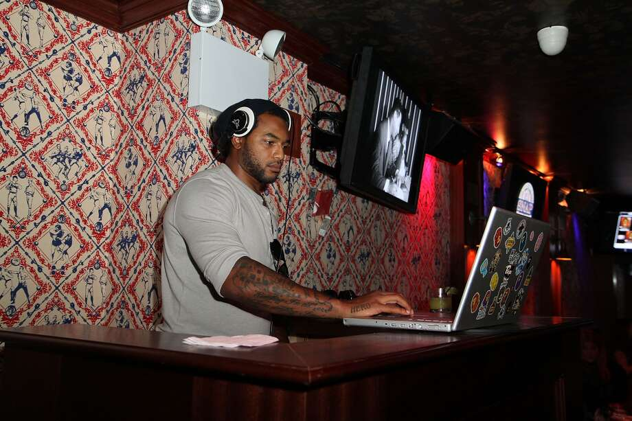 Since retiring, Johnson has hit the club circuit as a DJ in New York, LA, and most recently Miami with DJ Clue.  Photo: Taylor Hill, Wire Image