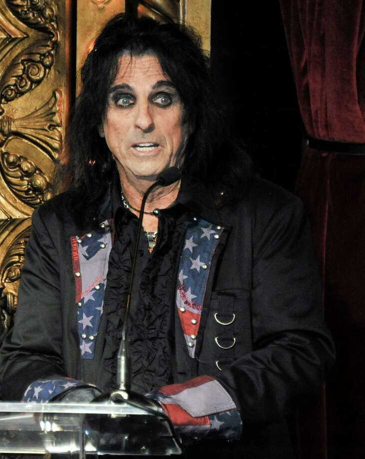 Alice Cooper attends the Motley Crue Press Conference, Tuesday, Jan. 28, 2014, in Los Angeles. The heavy-metal band says it will retire after performing 72 goodbye concerts. The band made the announcement at the press conference. (Photo by Richard Shotwell/Invision/AP) ORG XMIT: CARPS104 Photo: Richard Shotwell / Invision