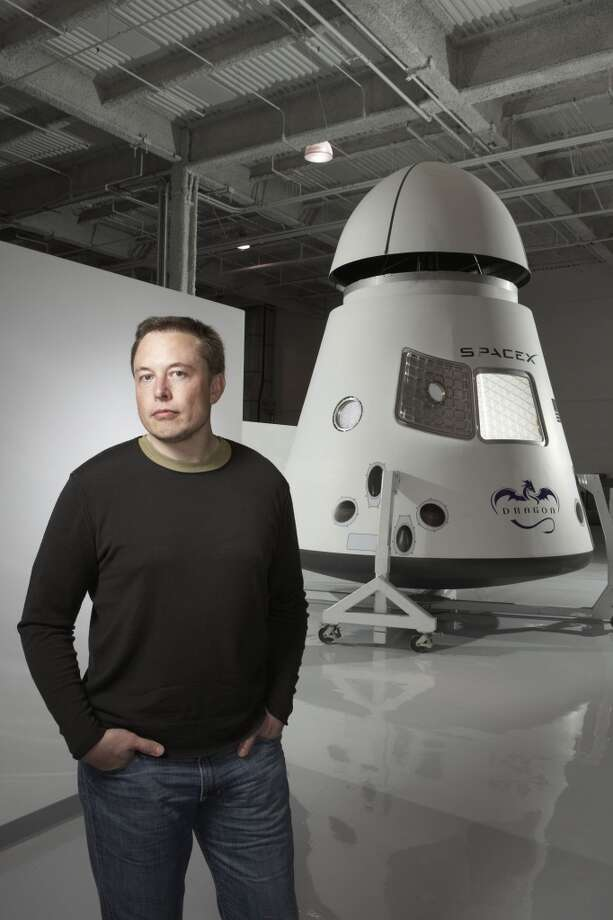 Elon Musk of PayPal and Tesla auto fame, turned his fortune toward the heavens. Today he's founder and chief executive officer of SpaceX. (Markham Johnson / Bloomberg News) Photo: MARKHAM JOHNSON, BLOOMBERG NEWS