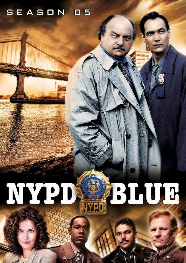 "dvd cover ""NYPD Blue: Season 5"" Photo: Shout! Factory, Amazon.com"