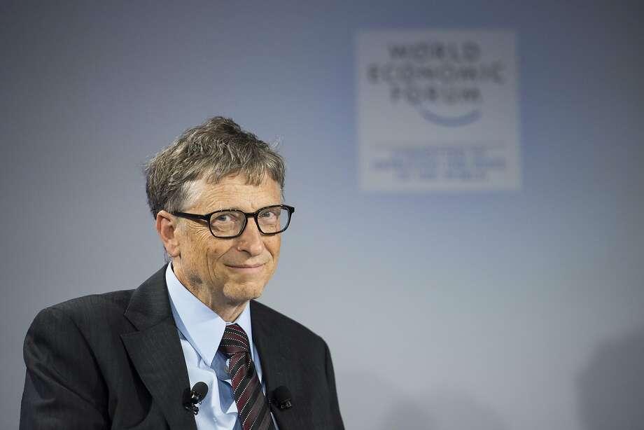 Bill Gates Photo: Jean-christophe Bott, Associated Press