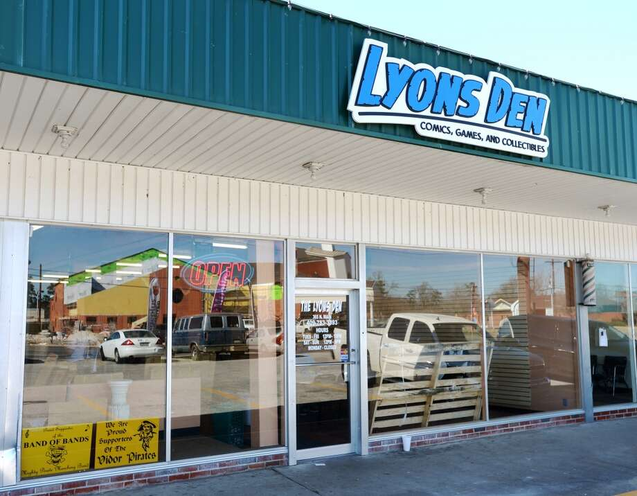 Lyons Den in Vidor is the CAT5 FreshBiz for Jan. 30, 2014. The shop caters to comic fans and gamers alike, and hosts tournaments and participates in Free Comic Book Day. Photo taken Tuesday, 1/21/14 Jake Daniels/@JakeD_in_SETX