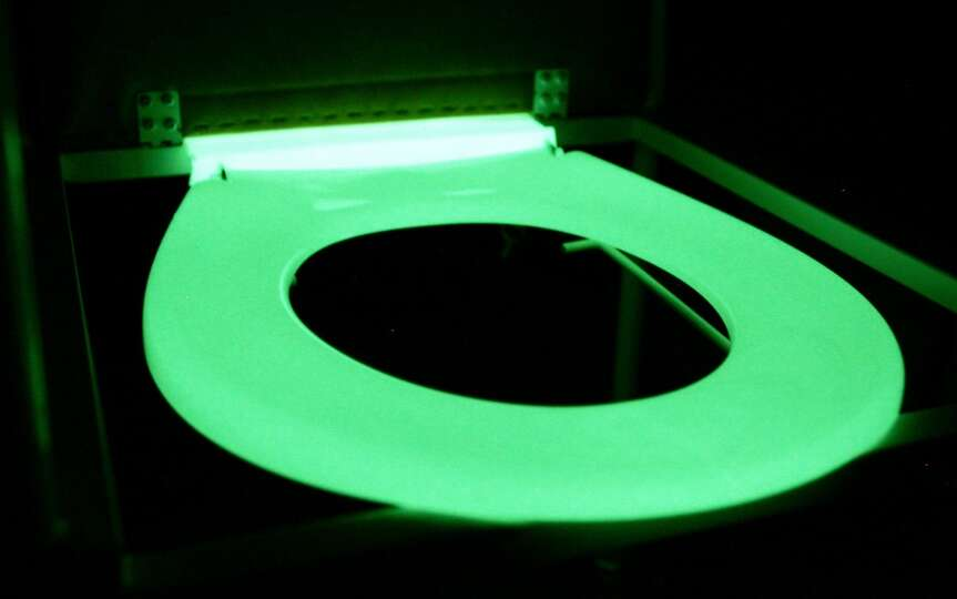 glow-in-the-dark toilet seat that a Melbourne hospital credits with ...