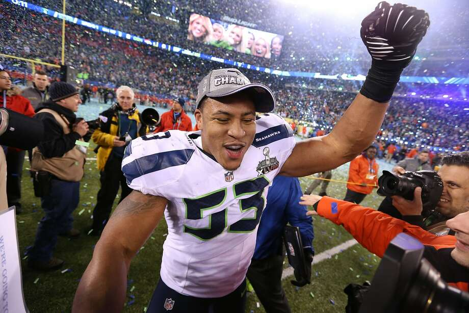 Seattle linebacker Malcolm Smith made life miserable for the Broncos two weeks after his interception sealed the NFC title. Photo: Matthew Emmons, Reuters