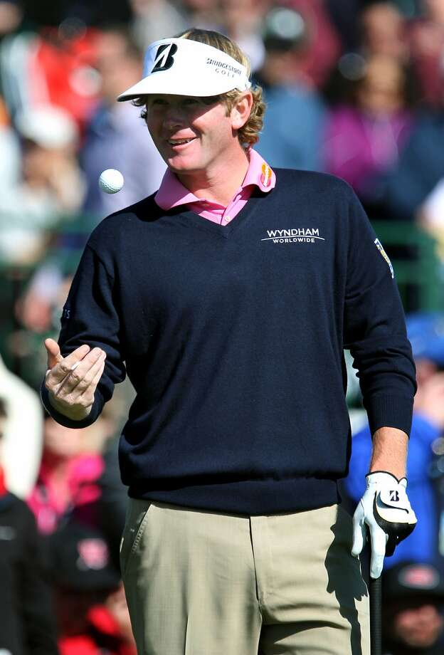 Brandt Snedeker says the uneven greens on the Monterey Peninsula play to his strength. Photo: Lance Iversen, The Chronicle