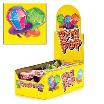 Ring Pops - They were more than candy, they were a fashion statement. A delicious, sugary fashion statement. Photo: Amazon