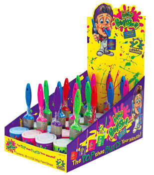 Lollipop Paint Shop candy - Nickelodeon was always playing commercials for this candy. Photo: Http://www.itsalldirect2u.com