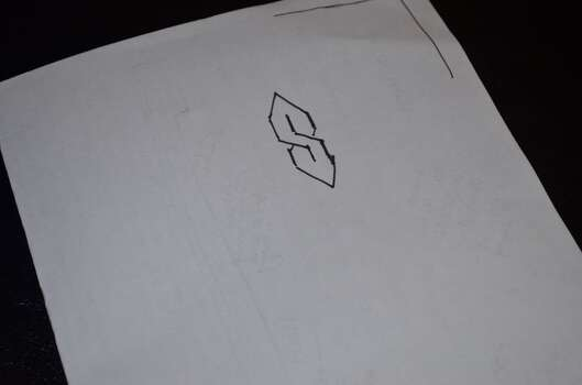 """The """"Super S""""- When you learned how to do one of these, you wrote them all over your notebooks."""