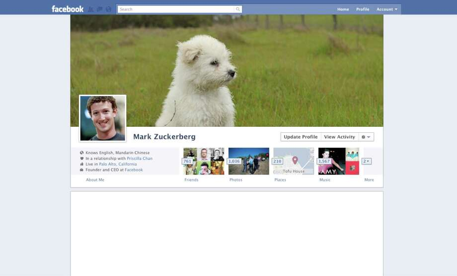 Facebook introduced the timeline. The new profile page featured a cover photo. A quick summary of personal information rose to the top.Article:Even on top, Facebook looks for next big thing Photo: Facebook