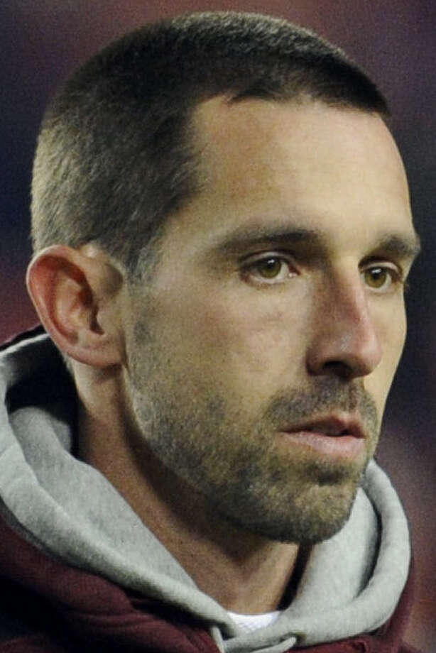 Kyle Shanahan was fired by the Redskins in late December. / FR67404 AP