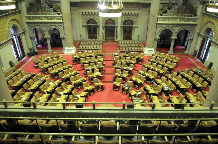 A view of the New York State Assembly chamber (Paul Buckowski / Times Union) Photo: Paul Buckowski / 10015670A