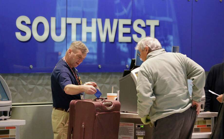 Airline: Southwest AirlinesScore: 74 Photo: LM Otero, STF / AP