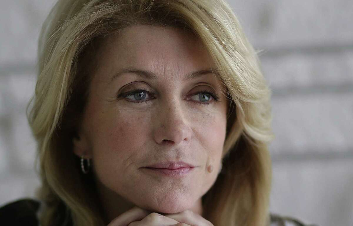 Texas democratic gubernatorial candidate Wendy Davis.