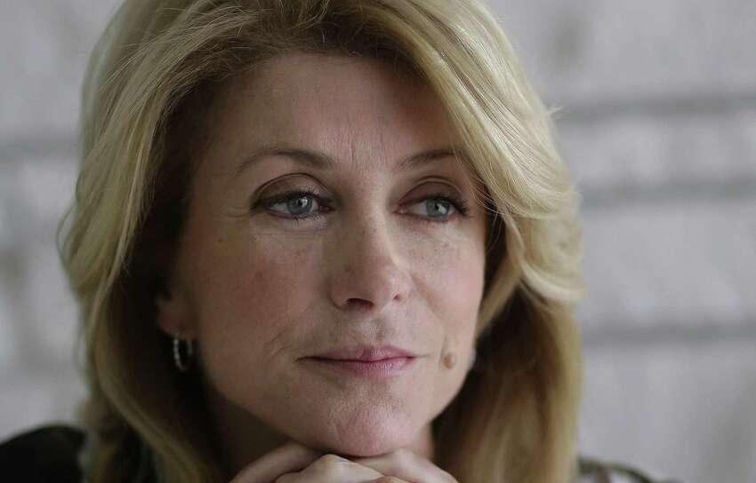 Texas democratic gubernatorial candidate Wendy Davis.