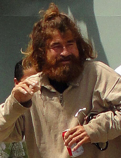 Jose Salvador Alvarenga arrives at a hospital in Majuro, Marshall Is- lands, after a long boat ride from Ebon Atoll. Photo: Giff Johnson / Getty Images / AFP