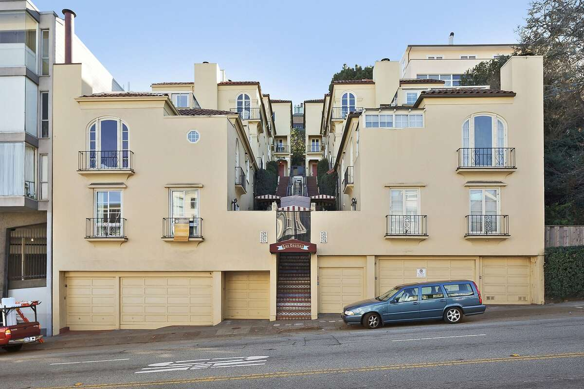 717 Bay St. is a two-bedroom Russian Hill home available for $1.349 million.