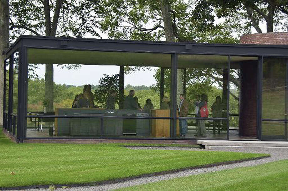 Tickets are available for tours of the Glass House in New Canaan, including the first-ever self-guided ones. Photo: Jeanna Petersen Shepard, Contributed / New Canaan News Contributed