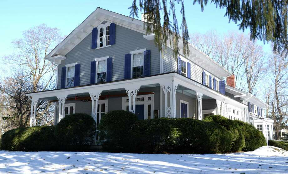 The property at 25 Turkey Hill Road South is on the market for $1,750,000. Photo: Contributed Photo / Westport News contributed