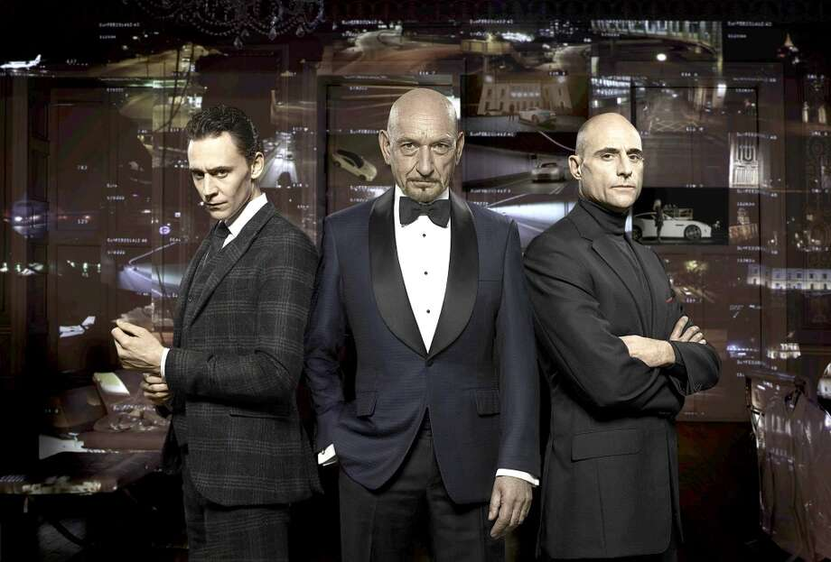 "Sir Ben Kingsley, center, Tom Hiddleston, left, and Mark Strong appeared in ""Rendezvous,"" Jaguar North America's 60 second television ad to debut the Jaguar F-TYPE Coupe (on sale spring, 2014) during the second half of Super Bowl XLVIII. (Jaguar via Detroit Free Press/MCT) Photo: Jaguar, McClatchy-Tribune News Service"