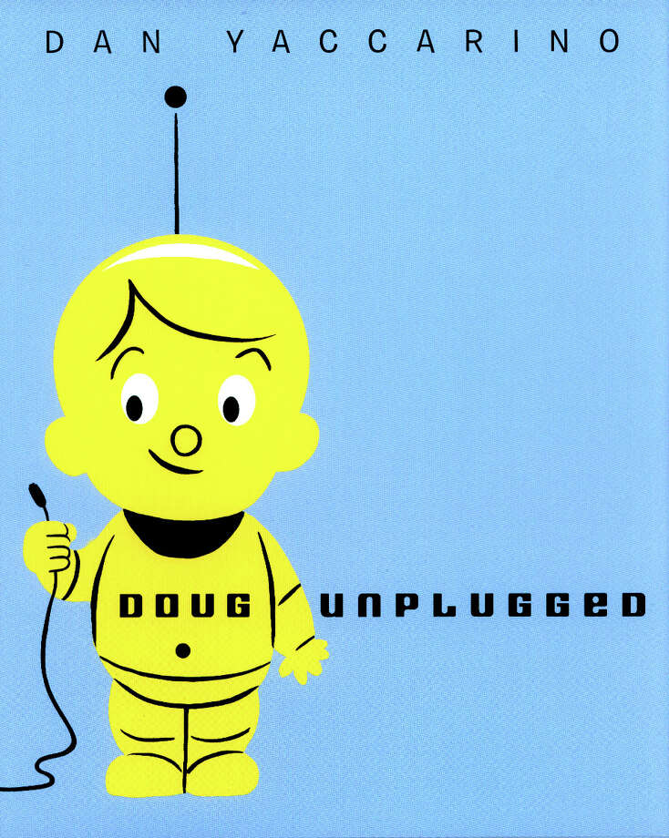 "Dan Yaccarino, the illustrator of hit cartoons such as ""Oswald"" and ""The Backyardigans,"" will be at The Aldrich Contemporary Art Museum in Ridgefield for some family fun on Saturday, Feb.15. Yaccarino will read his book ""Doug Unplugged,"" as well as its not-yet-released sequel, and sign books. Photo: Contributed Photo / The News-Times Contributed"