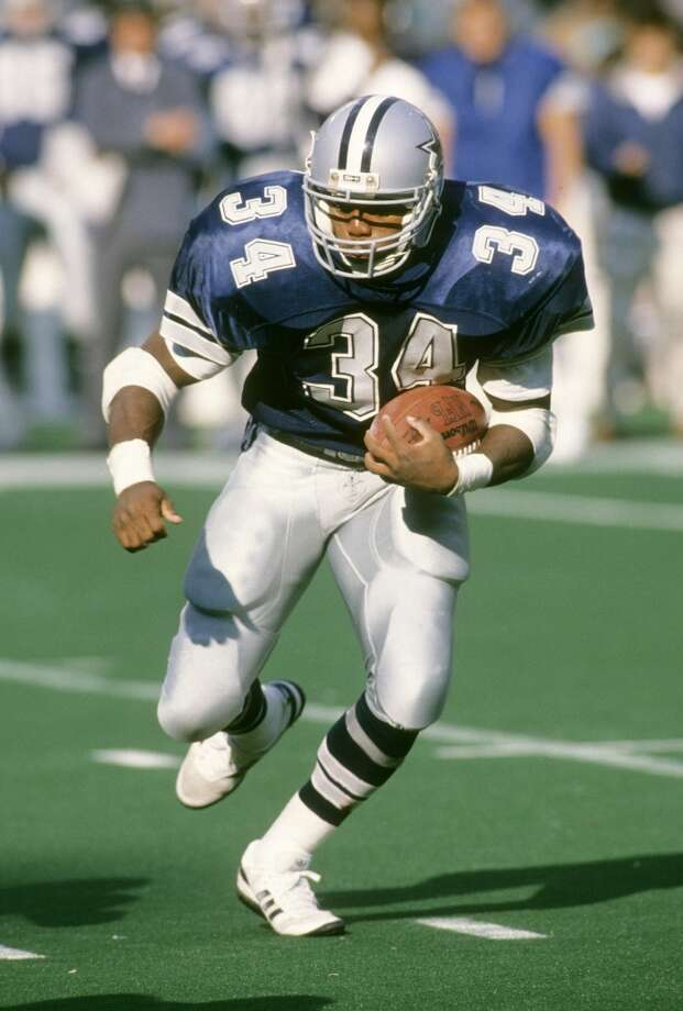Herschel Walker  He had 8,225 rushing yards and 91 touchdowns during 11 NFL seasons and retired in 1997. In 2007, Walker decided to participate in mixed martial arts and went 3-0 in his career. Photo: Focus On Sport, Getty Images
