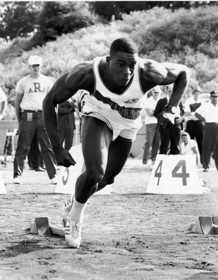 Bob Hayes  He won two Olympic gold medals as a sprinter but became a successful NFL wide receiver for 10 seasons with the Dallas Cowboys and San Francisco 49ers. Hayes was named to three Pro Bowls, won a Super Bowl and finished Photo: Robert Riger, Getty Images