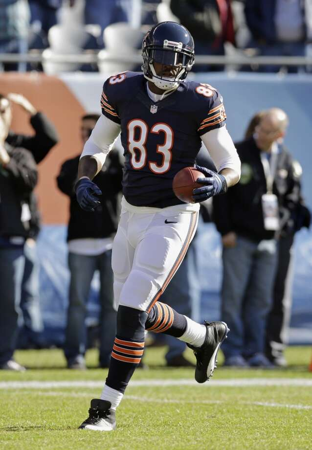 Martellus Bennett  The former Texas A&M tight end also played some basketball for the Aggies. Bennett was drafted by the Dallas Cowboys and played there for three seasons. He was also on the New York Giants but now plays for the Chicago Bears. Photo: Nam Y. Huh, Associated Press