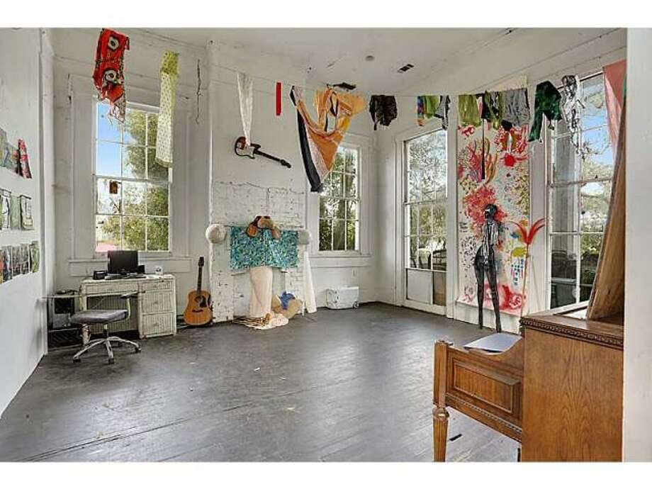 Space for dancing and music. Photo via MLS/Gardener Realtors.