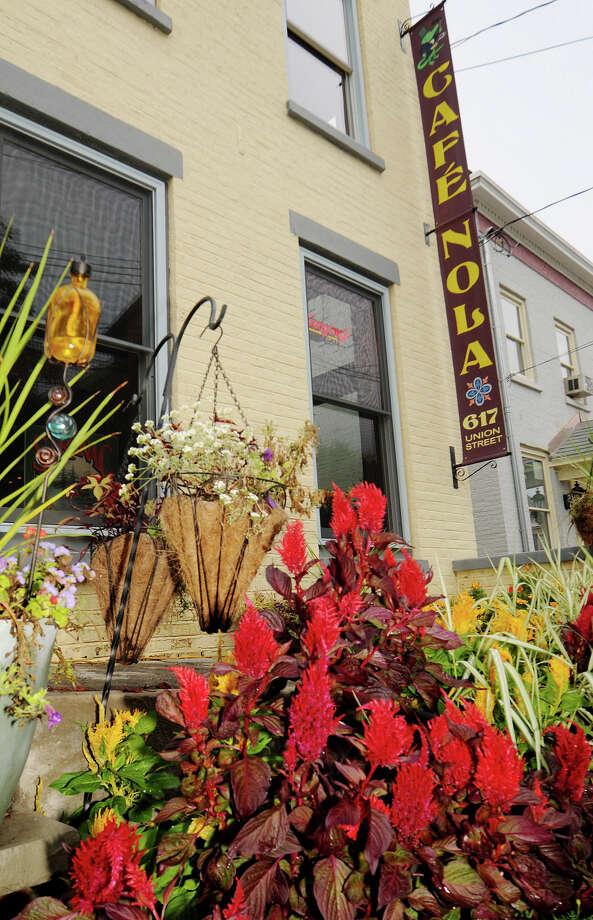 Cafe NOLA. 617 Union Street, Schenectady, NY.518-357-8628.View menu.View Web site. Photo: Luanne M. Ferris, . / 00010521A