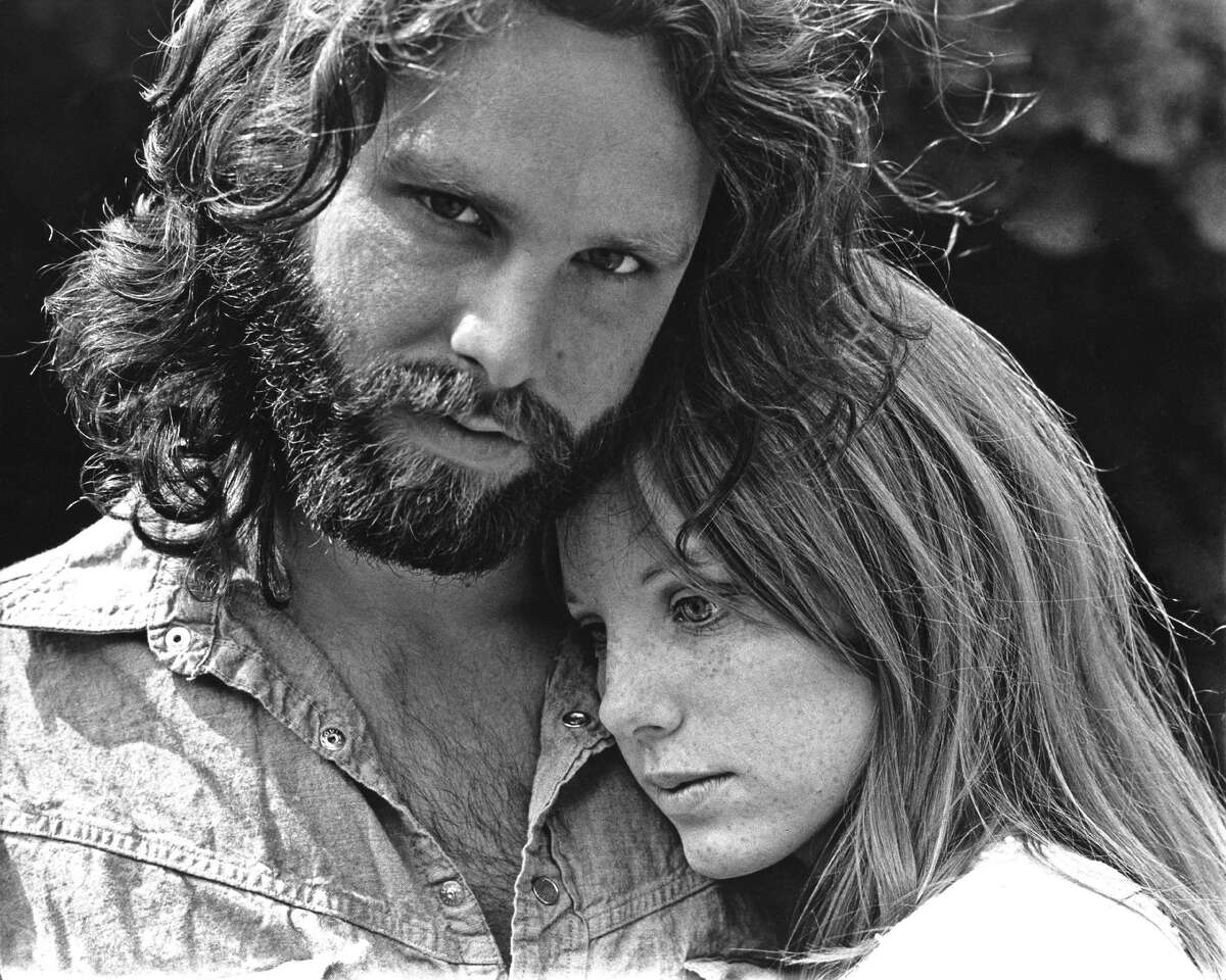 Tragically, both The Doors singer Jim Morrison and his girlfriend Pamela Courson (pictured) would join the ill-fated 27 Club. Courson found Morrison dead in a bathtub in Paris in 1971. Three years later in 1974, Courson died of a heroin overdose.