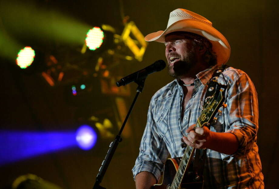 Sing along with country artist Toby Keith at the Xfinity Theater on Saturday. Get tickets.  Photo: Rick Diamond, Getty Images / 2013 Getty Images