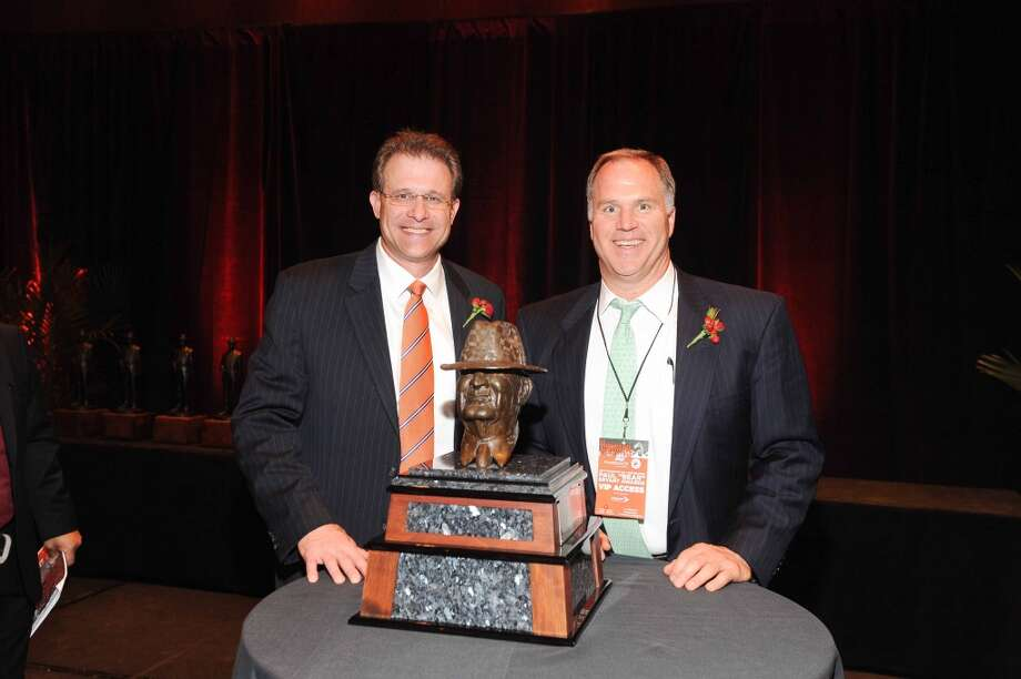 Gus Malzahn and Doug Dawson at the Paul Bear Bryant Annual Awards benefiting the American Heart Association. Photo: Alexander's Fine Portrait Design