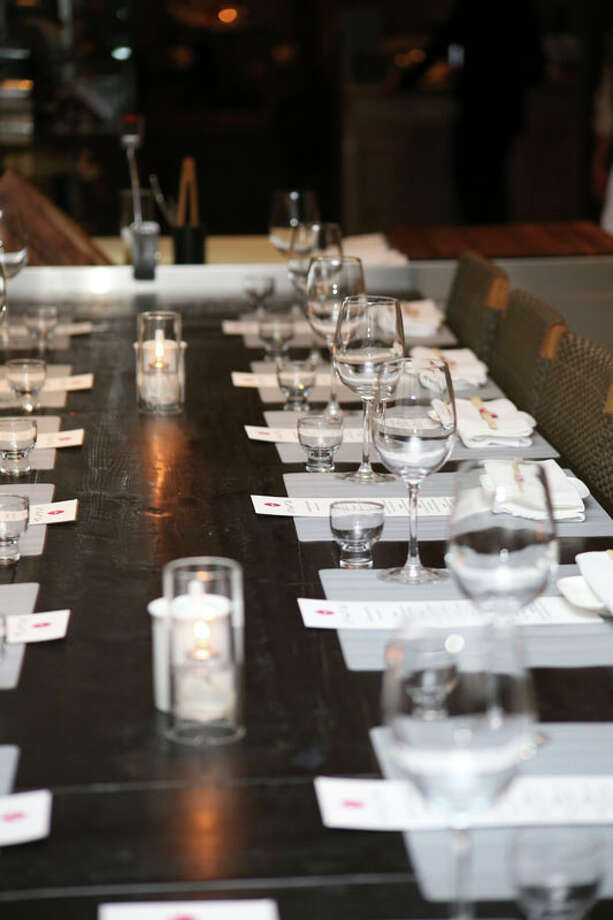 The chef's table at Nara.  (Courtesy photo / Nara) Photo: Courtesy Photo, Nara