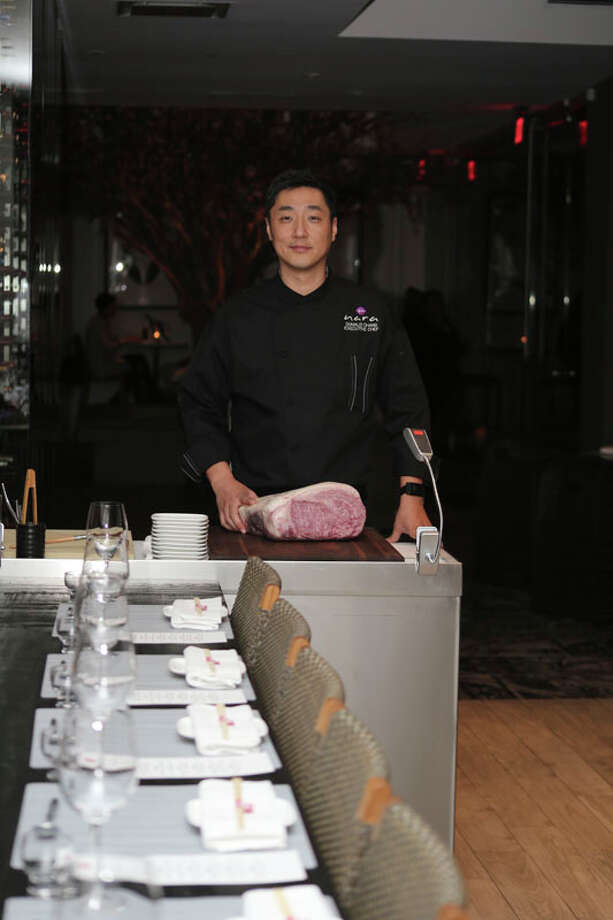 Donald Chang of Nara at the chef's table.  (Courtesy photo / Nara) Photo: Courtesy Photo, Nara