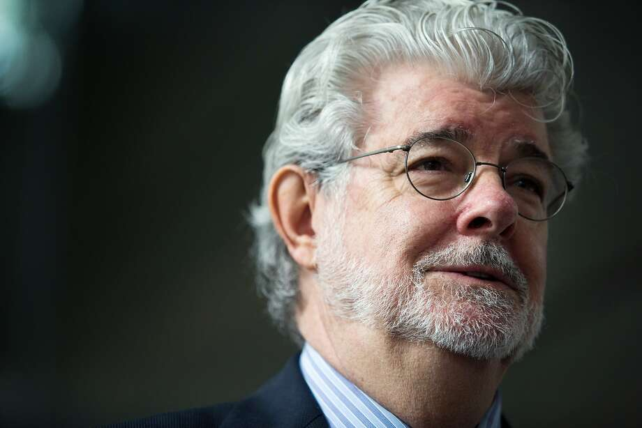 """Billionaire George Lucas, filmmaker and founder of Lucasfilm Ltd., speaks during the opening ceremony of the company's Sandcrawler building, home to Lucasfilm's Singapore unit, in Singapore, on Thursday, Jan. 16, 2014. Lucasfilm Singapore, which is working on movies including """"Transformers 4"""" and """"Avengers 2,"""" is expanding as it increases its workforce in the city-state, the only location outside the U.S. where the San Francisco-based company has a regional headquarters, it said. Photographer: Nicky Loh/Bloomberg *** Local Caption *** George Lucas Photo: Nicky Loh, Bloomberg"""