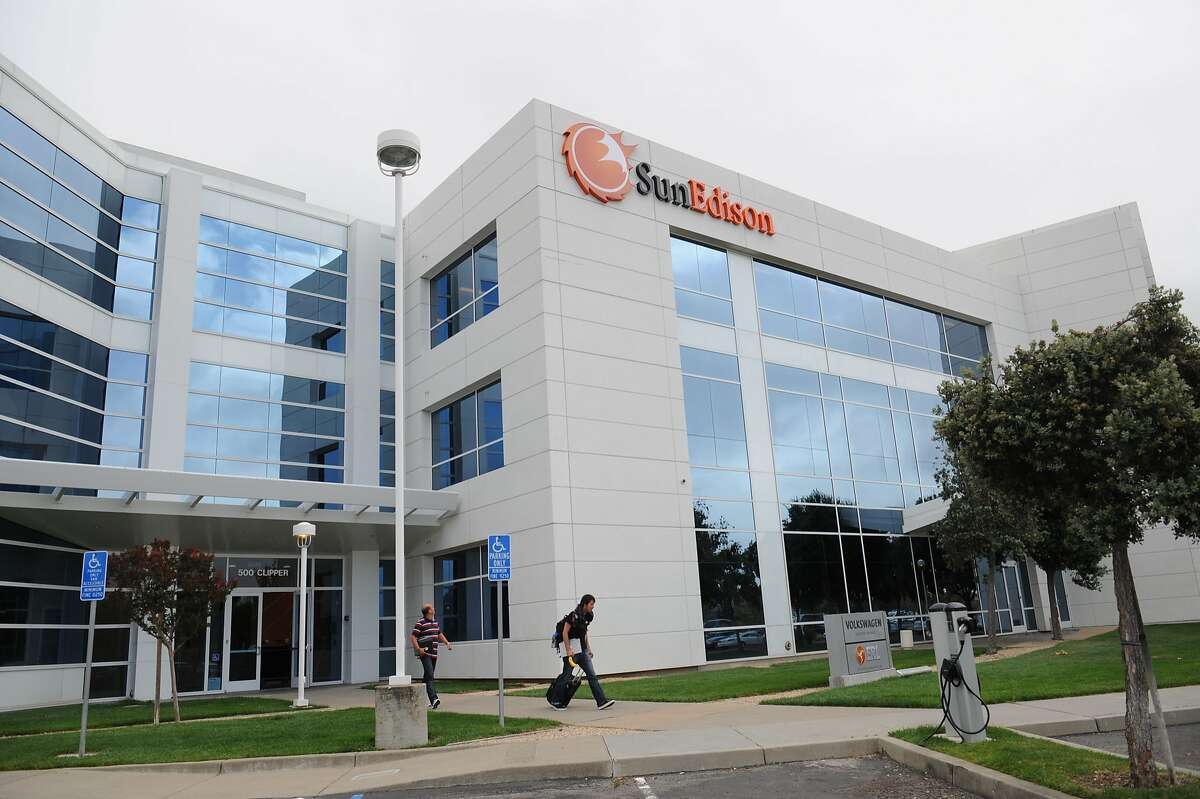 SunEdison is a company that develops large solar power projects. It has transferred its headquarters from Maryland to Belmont, drawn by California's supportive political and financial environment for renewable power.