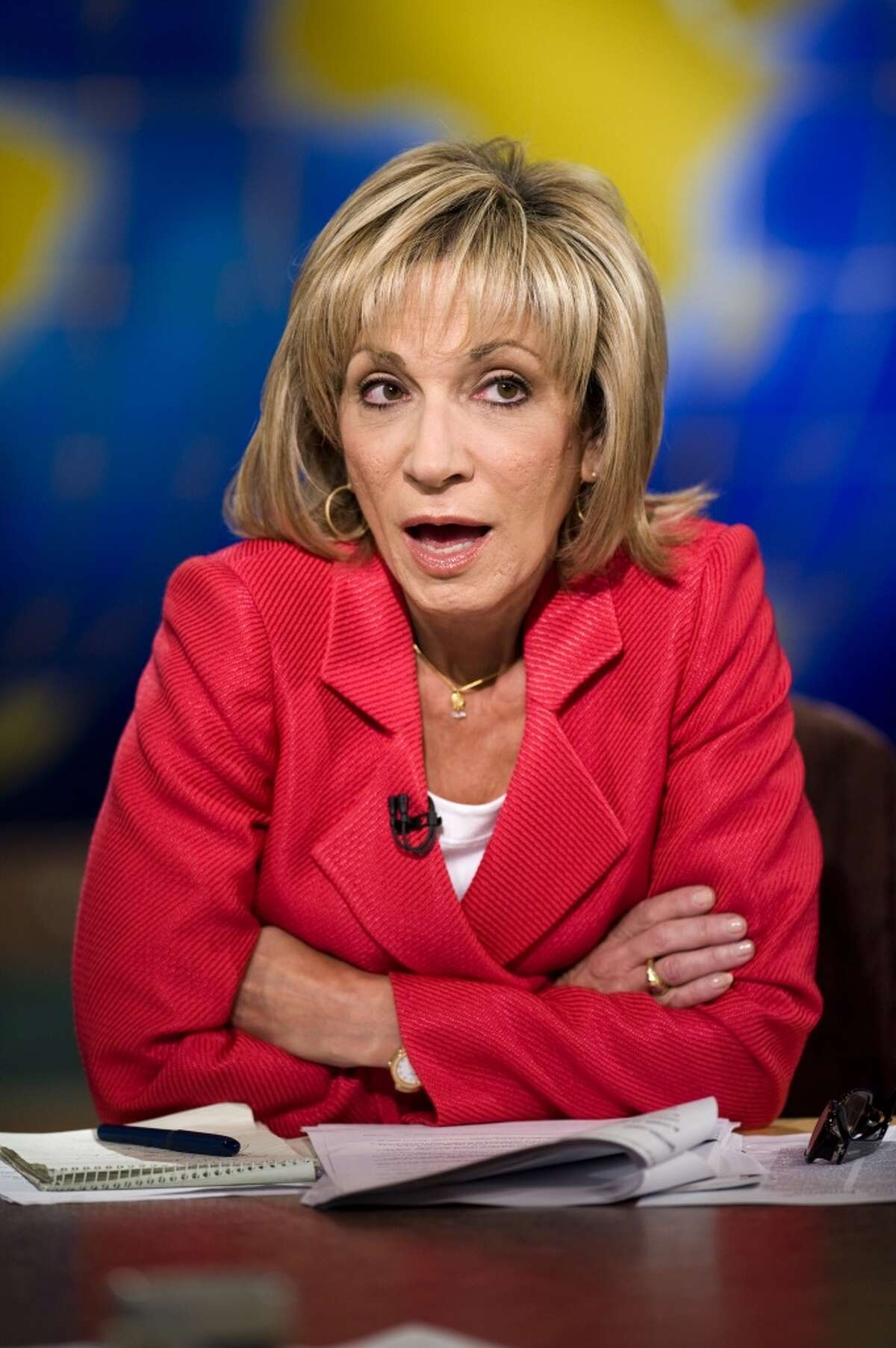 NBC's Andrea Mitchell: Climate change has become a talked about issue, after years in which TV networks have shown glacial indifference to the issue.