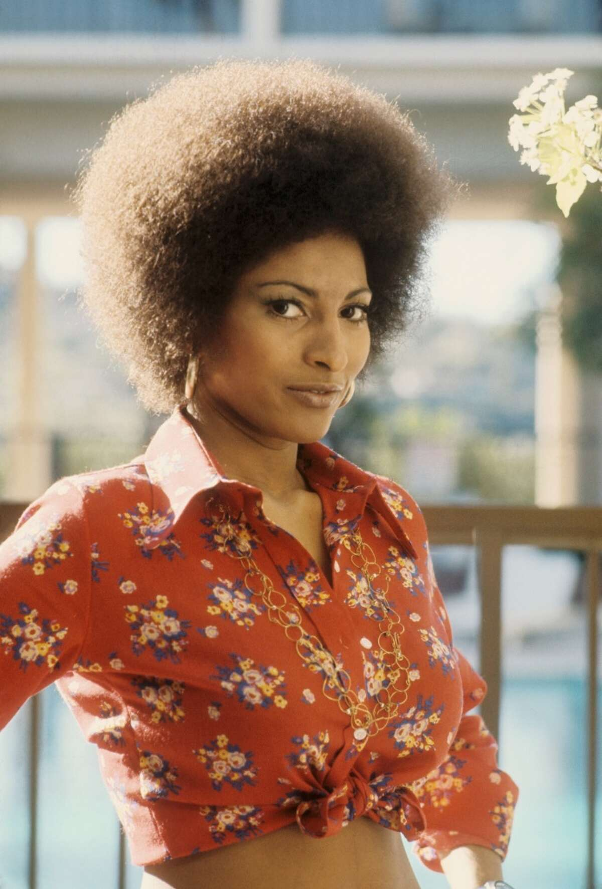 """Pam Grier, seen here in 1972, was a feminist icon in '70s films """"Coffy"""" and """"Foxy Brown."""" Her autobiography is being turned into a movie. Click through for a look at actresses who could play the timeless icon."""
