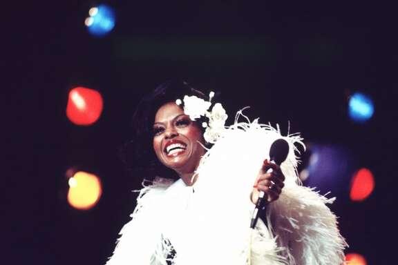 Diana Ross in 1973.