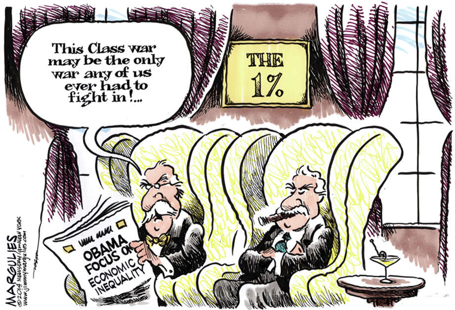 Class war Photo: Jim Margulies