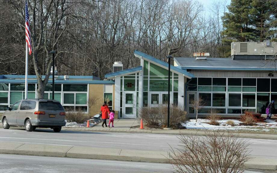 Exterior of Birchwood Elementary School on Tuesday, Feb. 4, 2014 in Niskayuna, N.Y.  The Board of Education is expected to discuss the possible closure of the school. (Lori Van Buren / Times Union) Photo: Lori Van Buren / 00023940A