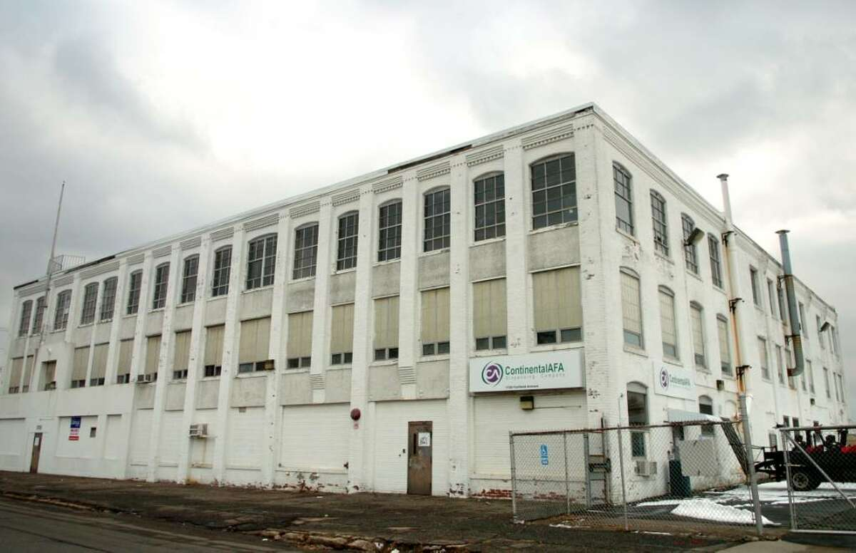 The old AFA manufacturing building at 1720 Fairfield Ave. in Bridgeport.