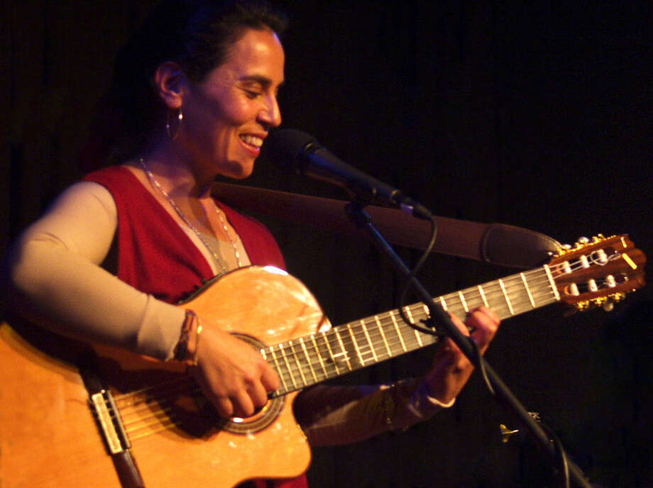 "Chilean singer-songwriter Lichi Fuentes, who will  perform in ""Chile Canta,"" calls the folk songs of Chile ""musical newspapers."" Photo: Courtesy Trinity University / San Antonio Express-News"